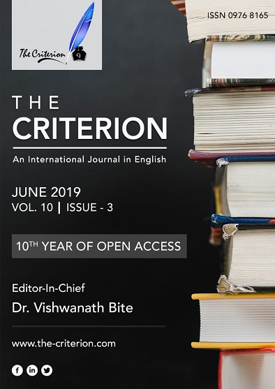 Current Issue - The Criterion: An International Journal in English